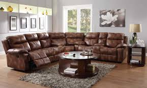 Microfiber Sofa With Chaise Lounge by Furniture Comfortable Living Room Sofas Design With Reclining