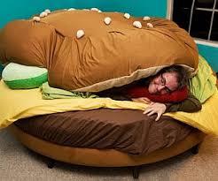 Bean Bag That Turns Into A Bed Hamburger Beanbag