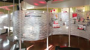 commercial room divider curved moz designs