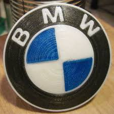 3d printed bmw roundel 9 steps with pictures