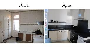 cuisine avant apr鑚 salle de bain en galerie d inspiration pour la meilleure