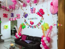 balloon decoration for birthday at home beautiful home balloon decoration birthday simple balloon
