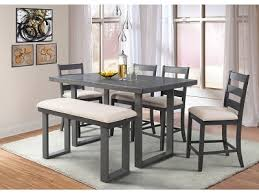 6pc counter height dining set