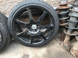 subaru impreza wheels 18 u2033 subaru impreza wr1 speedline prodrive alloy wheels steve