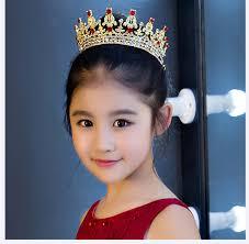 Sho Putri shosixuan mahkota putri indah air bor gadis hiasan rambut anak bayi