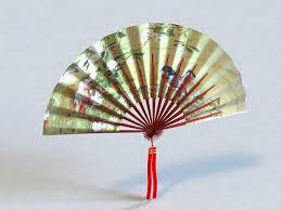 japanese folding fan japanese fan 3d model 3ds max files free modeling