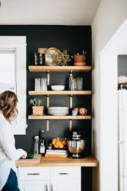 Diy Black Kitchen Cabinets The Truths How I Cut Corners With The Kitchen Shelving