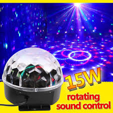 gopher stage lighting store dj laser disco ball stage light led rgb crystal magic ball effect