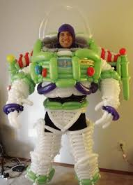 Buzz Lightyear Memes - buzz lightyear costume made entirely out of balloons disney