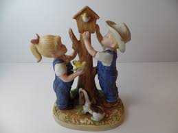 home interior denim days figurine denim days figurine homco figurine homco home