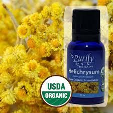 pure premium grade usda certified organic helichrysum essential
