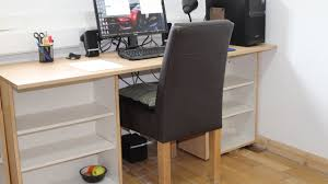 Kitchen Cabinet Desk by Kitchen Cupboard Unit To Computer Pc Desk U2013 Cheap Free Diy