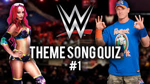 theme song quiz wwe wwe theme song quiz 1 youtube