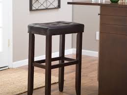 Leather Counter Stools Backless Bar Stools Wonderful Backless Leather Bar Stools Hd Bar Stools