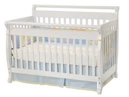 White Convertible Baby Crib Davinci Emily 4 In 1 Convertible Baby Crib In White W Toddler