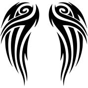 tribal wings t shirt spreadshirt