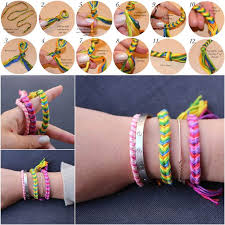 diy fashion bracelet images How to diy fishtail braid friendship bracelet jpg