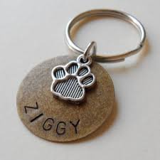 Remembrance Keychain Best Paw Print Pet Tags Products On Wanelo