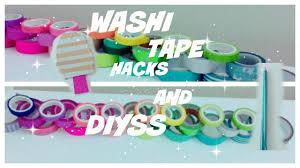 What Is Washi Tape Washi Tape Hacks And Diys Youtube