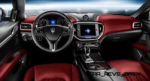 maserati red and black 2014 maserati ghibli s q4 red interior white exterior showcase