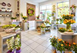 florist shop salesroom a flower shop with flower stock photo picture and