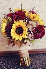 Wedding Flowers Fall Colors - 50 fall wedding bouquets for autumn brides bridal bouquets