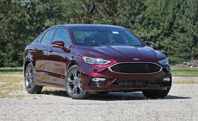 2017 ford fusion sport with summer tires tested u2013 review u2013 car and