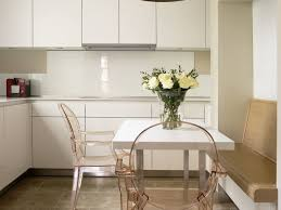 High Gloss Acrylic Kitchen Cabinets by High Gloss Backsplash White Splash Back Clear Dining Chair