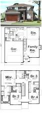 Plan 4 by House Plan 41109 Total Living Area 2158 Sq Ft 4 Bedrooms U0026 3 5