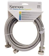 washer and dryers black friday kenmore 99901 59027 stainless steel washing machine hose u2013 2 pack