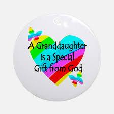 granddaughter ornament cafepress