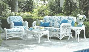 White Resin Wicker Loveseat White Outdoor Wicker Furniture 20 Sets To Choose From For