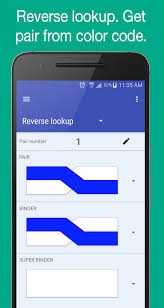 copperpairs telecom color code translator android apps on