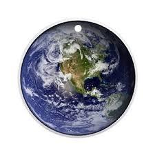 planet earth ornaments cafepress