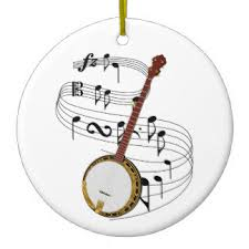banjo ornaments keepsake ornaments zazzle