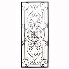 wrought iron kitchen wall decor also inspirations picture
