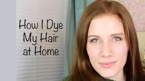 Light Brown Dye How I Dye My Hair At Home John Frieda Precision Foam Hair Color