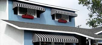 Cloth Window Awnings Made In The Shade Awnings Custom Fabric Awnings