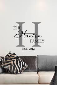 vinyl wall art makeover for your homes pickndecor com custom family name u0026 monogram vinyl decal monogram vinyl wall art decal dezmgdm