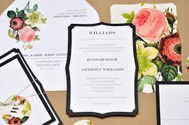 romantic floral wedding invitations smitten on paper