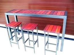 outdoor patio bar table outdoor patio bar table and chairs myforeverhea com