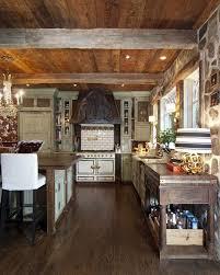 Log Home Kitchen Cabinets - extraordinary backsplash ideas for log homes using porcelain