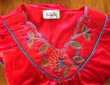 Vanity Fair Coloratura Nightgown Red Vanity Fair Nylon Gown Ebay