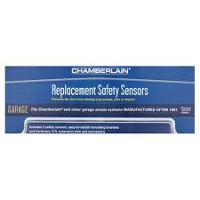 chamberlain replacement safety sensors for garage door openers