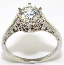 crown engagement rings images Diamond crown engagement ring the jewelers guild jpg