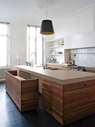 space saving kitchen islands contemporary reclaimed wood kitchen island with space saving pull