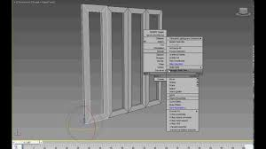 3ds max tutorial simple folding doors rig with wire parameters