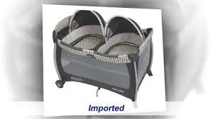 Graco Replacement Canopy by Graco Pack U0027n Play With Twins Bassinet Youtube