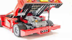 lego ferrari f40 lego 10248 ferrari f40 rc motorized f40 teaser video by 뿡대디