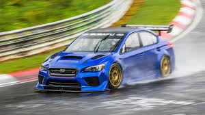 sti subaru 2017 subaru wrx sti sets four door sedan record on the nürburgring